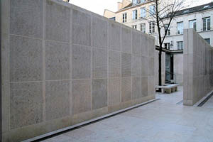 French wall of names